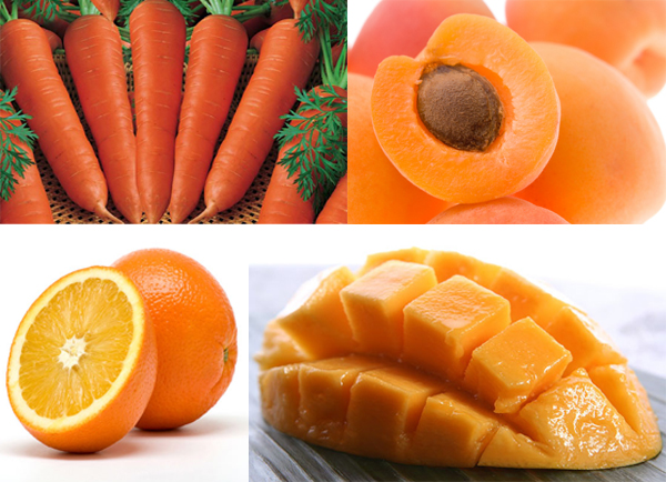 Buah Buahan Berwarna Orange
