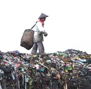 sang pengais sampah
