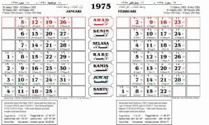 kalender masehi-hijriah